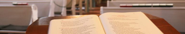 Lesepult in der Kirche Sitten