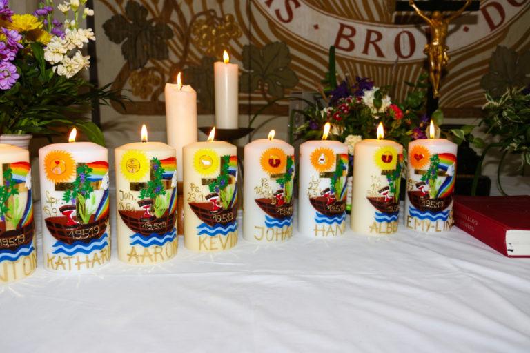 Konfirmation Kerzen