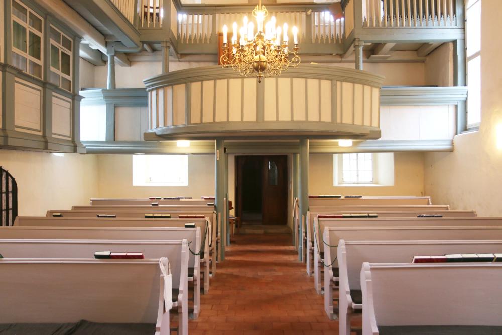Kirche Sitten Innenraum