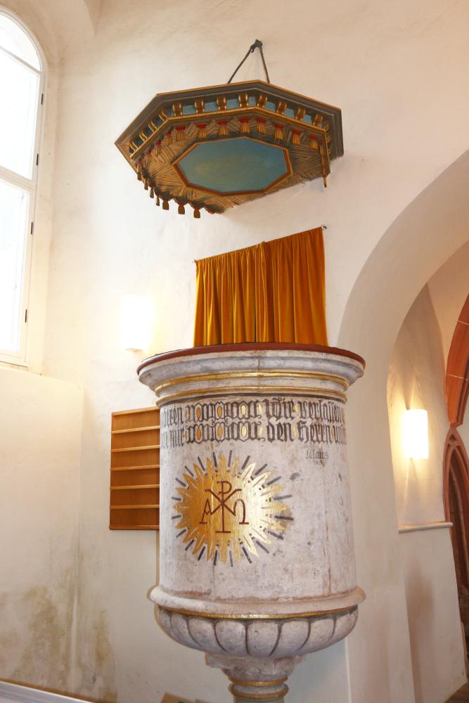 Kirche Sitten Kanzel