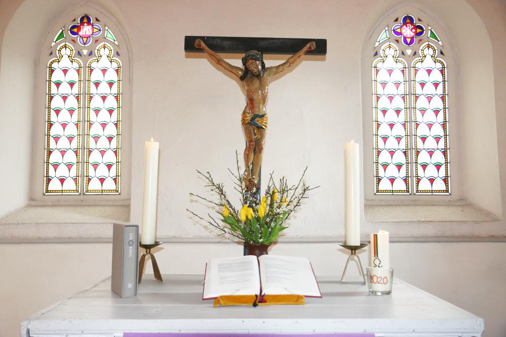 Kirche Sitten Altar