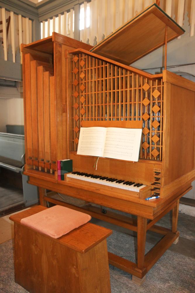 Kirche Sitten Orgel