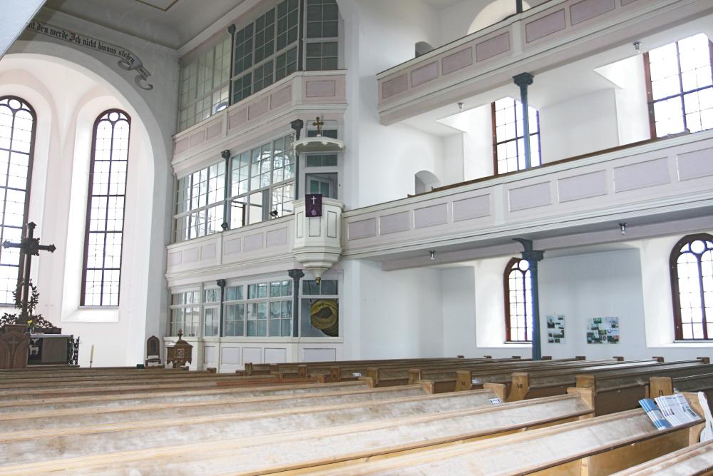 Kirche Polditz Innenraum