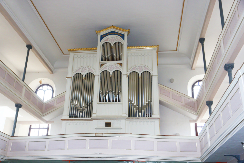 Kirche Polditz Orgel