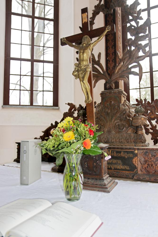 Kirche Polditz Altar