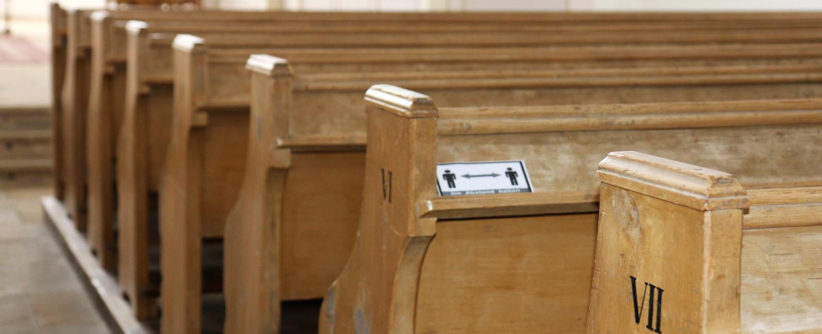 Kirche in Coronazeiten