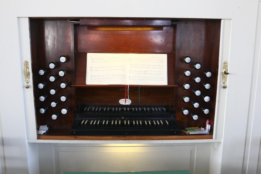 Kirche Zschoppach Orgel