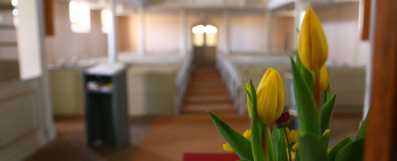 Gottesdienste im Frühjahr